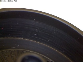 pinewood derby wheel black ops close up
