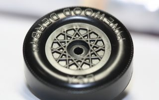 Coned Pinewood Derby Wheel DIY