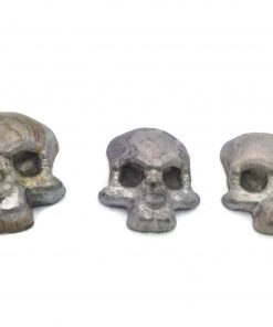 Pinewood Derby Weight Skull Canopy - LEAD