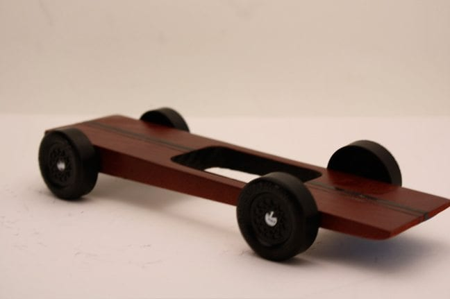 Ultra light Pinewood Derby body