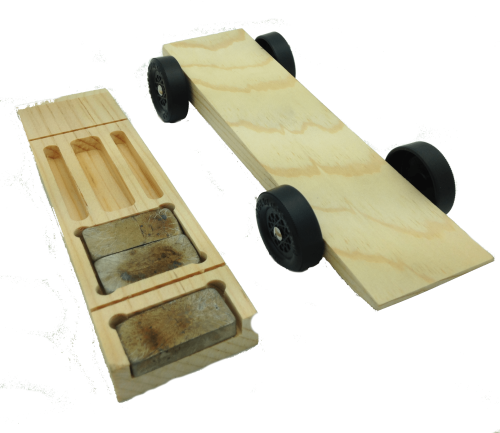 Rail Rider™ Pinewood Derby Car Kit
