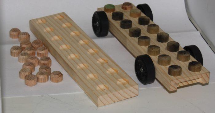 Pinewood Derby Car Body Lego® Like