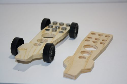 Pinewood Derby Body Ultra Lite Tornado