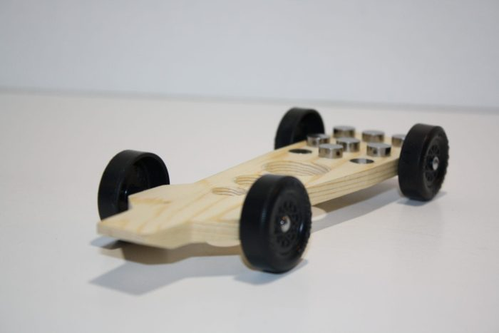 Tornado Fast Pinewood Derby Car Kit