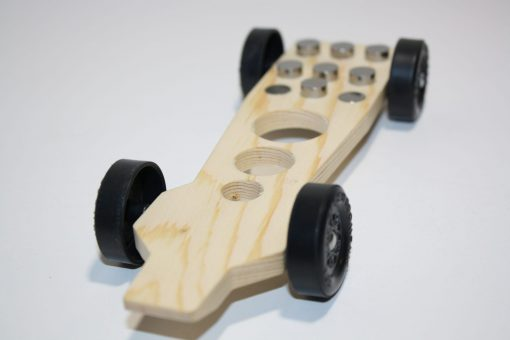 Tornado Fast Pinewood Derby Car Kit