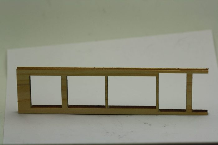 Pinewood Derby Ladder Car Body - XL
