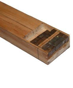 """pinewood derby tungsten cubes 1/4"""""""