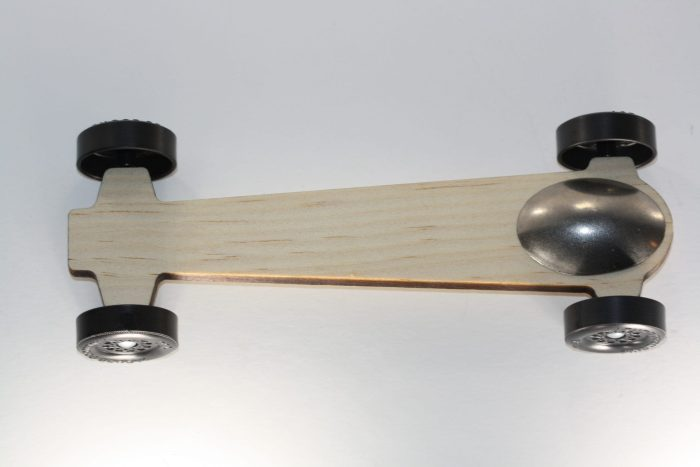 Pinewood Derby Body Ultra Lite Canopy Car - The Ghost