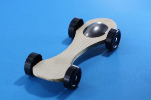 Pinewood Derby Car Body Light Weight