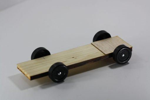 Pinewood Derby Ladder Car Body - Plank