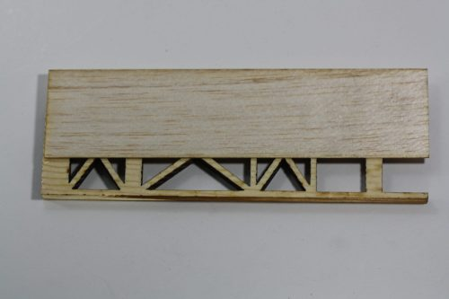 Pinewood Derby Ladder Car Body - Xframe