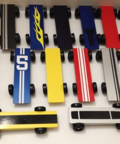 Pinewood Derby Pin Striping