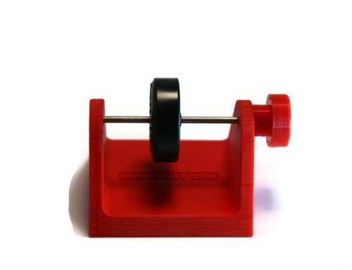 Pinewood Derby Wheel Tester Stand – Check for Wobble
