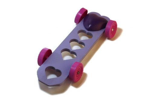 Pinewood Derby Car Weight - Heart