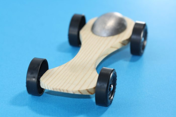 Pinewood Derby Car Kit - Canopy #8