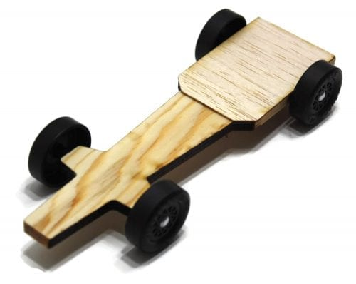 Pinewood Derby Car Kit - Bullet