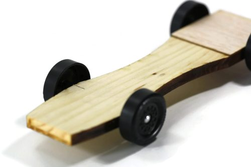 Pinewood Derby Car Kit - Flat Head