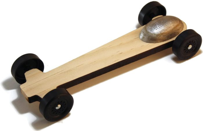 Ghost Pinewood Derby Car Kit