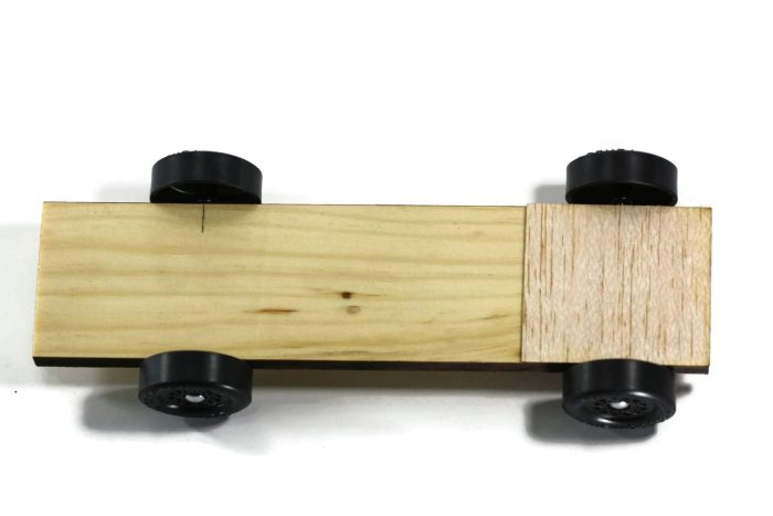 Pinewood Derby Car Kit - Plank