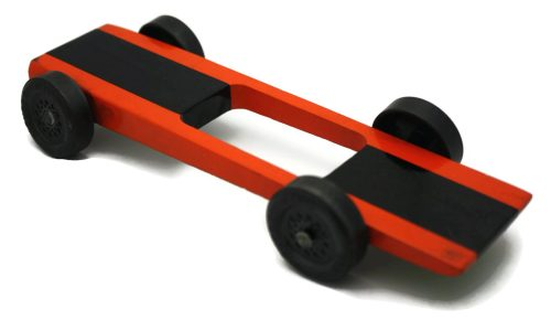 Pinewood Derby Car Kit - razor wedge