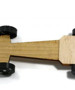 Pinewood Derby Car Kit - Speedster