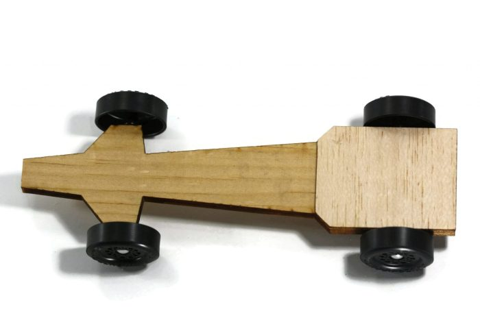 Pinewood Derby Car Kit - Speedster