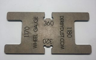 pinewood derby wheel gauge