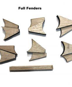 Pinewood Derby Fender Flares