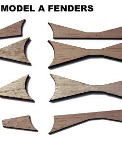 Pinewood Wheel Fenders Flares Fins