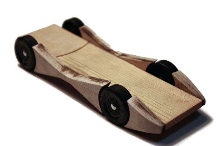 Pinewood League Car Kit - Model A