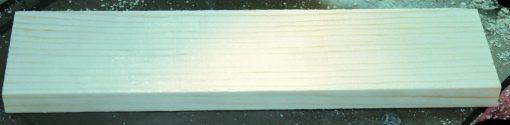 Pinewood derby slab block