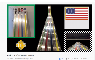 Live Stream Pinewood Derby