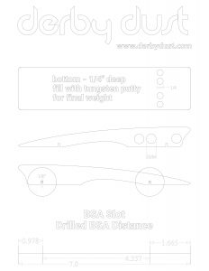 Free Pinewood Derby Car Templates Designs Plans #1