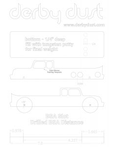 Free Pinewood Derby Car Templates Designs Plans #4