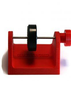 pinewood derby wheel test stand