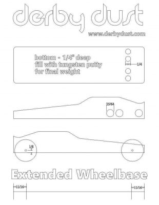 Free Pinewood Derby Car Templates Designs Plans #3