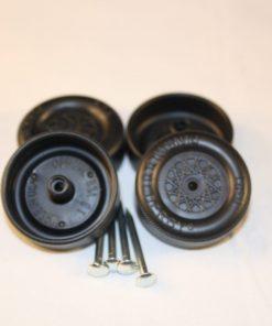 Pinewood Derby Speed Axle Wheel Set Graphite Dry Lube