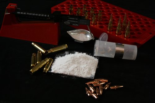 Reloading Hex-Boron Nitride (hBN) Powder