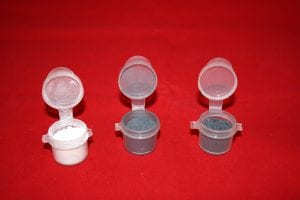 Bullet reloading tumble Boron Tungsten Moly Sample Pack