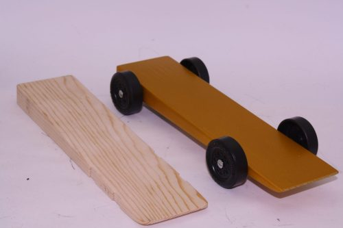 Pinewood Derby Complete Car Kits --- SUPER Slim Wedge