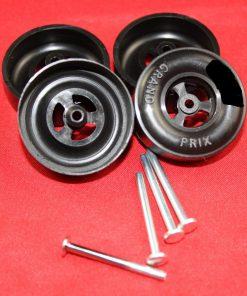 Awana® Pinewood Derby Car Speed Wheel Axle Set