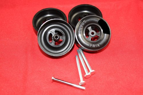 Awana® Pinewood Derby Car Speed Wheel Axle Set