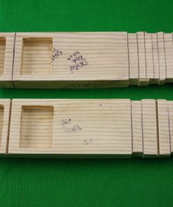 Pinewood Derby Car Body ONLY --- Areo Wing Bullet Dovetail