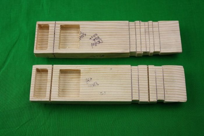 """Pinewood Derby Complete Car Kits --- """"Wing"""""""