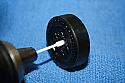 Pinewood Derby Wheel Polishing Spears