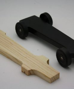 Pinewood Derby Car Body ONLY ---Mongoose
