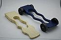 Pinewood Derby Complete Car Kits ---Wiggle Wonder