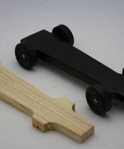 Wedge Style Winning Pinewood Derby Car Kit