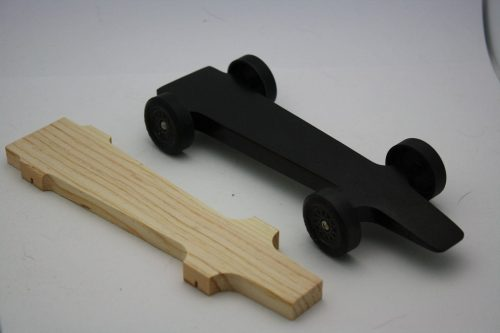Wedge Style Winning Pinewood Derby Car Kit