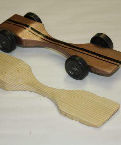 Fast Winning Pinewood derby car design warped physics